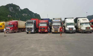 Containers with perishable goods stuck at Vietnam-China border