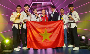 Vietnam win four taekwondo world cup gold medals