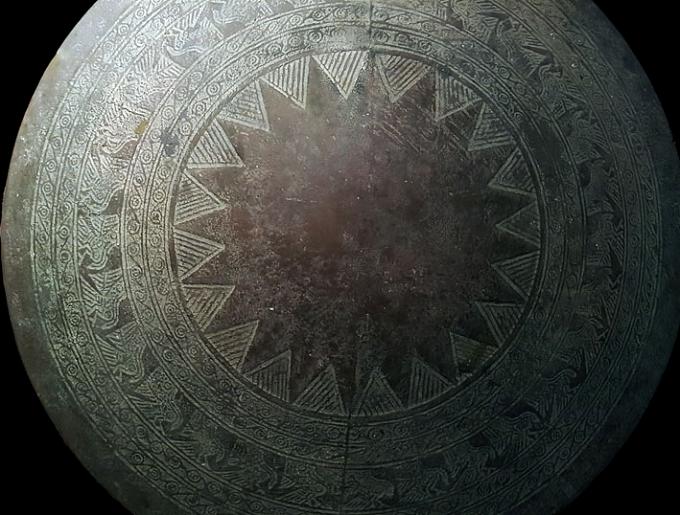 Dong Son bronze drum, circa 500 BC