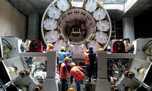 Tunnel drilling for Hanoi's second metro to start next year