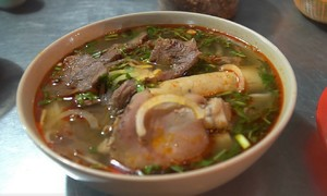 Saigon beef noodle soup stall thrives as patrons spread the word