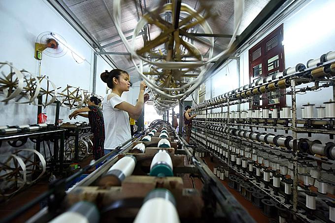 Northern Vietnam village spins a yarn - 6