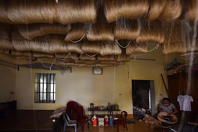 Northern Vietnam village spins a yarn - 8