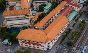 Stately building graces downtown HCMC, 100 years on