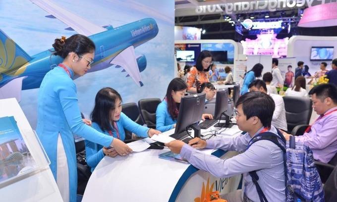 Annual travel expo opens in Saigon, bigger than ever