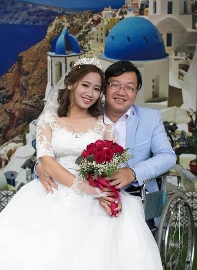 Nho and Nga get married in Feberuary 2018. Photo coutersy of Nho.