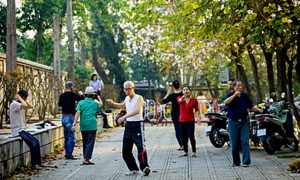 The charm of daily life in Hanoi