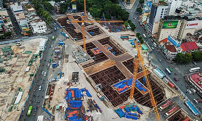 Saigon plans $292 million underground shopping complex