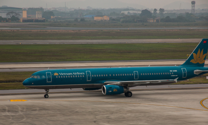 Vietnam Airlines plane damaged in bird-hit