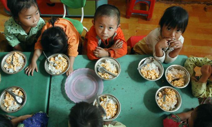 21 percent of ethnic minority children in Vietnam are underweight