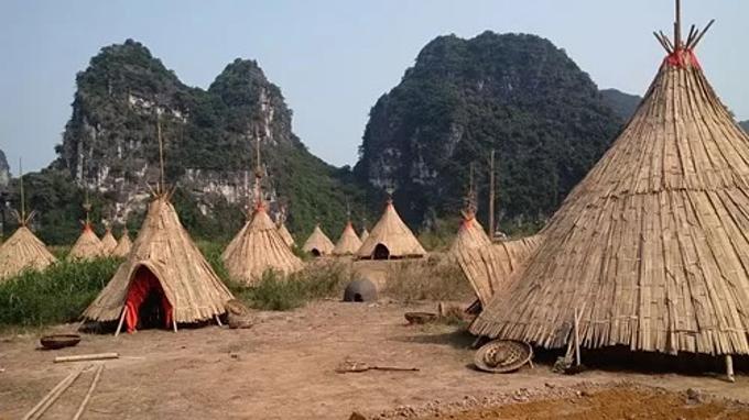 The Kong: Skull Island film set at Trang An tourism complex.