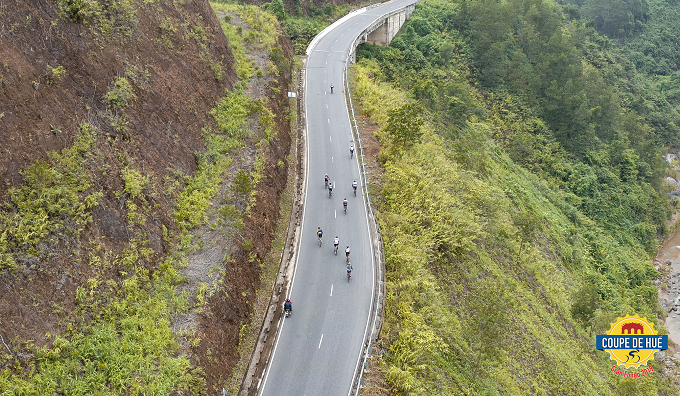 A section of the course of 2019 Coupe de Hue Gran Fondo. Photo courtesy of Coupe de Hue Gran Fondo.