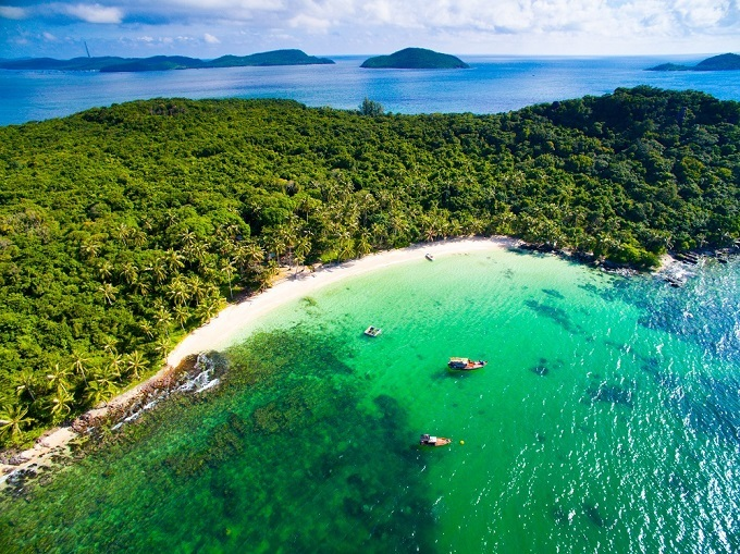 May Rut island in Phu Quoc, Kien Giang Province, southern Vietnam. Photo by Shutterstock/Jimmy Tran.