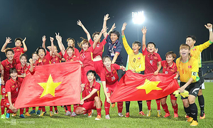 Vietnam women climb one place in football world rankings