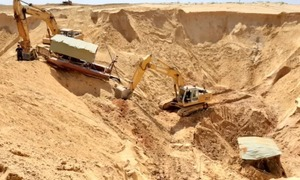 Titanium reservoir suspended after worker's death