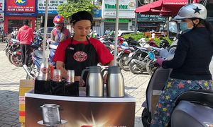 Vietnam coffee chains take their fight to the streets