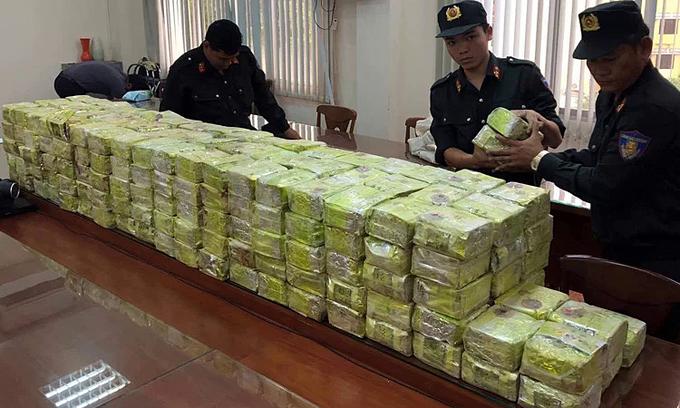 Saigon drug haul up tenfold year-on-year: police