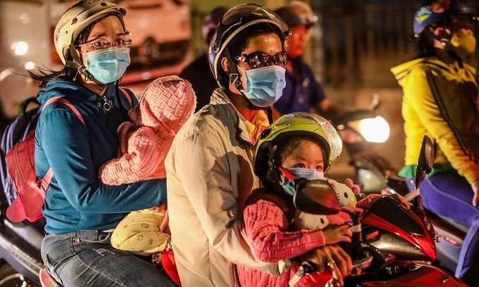 Parents despair for their little ones as air quality plummets