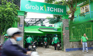 Grab launches first shared kitchen in Vietnam