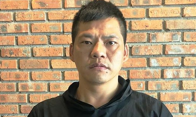 Chinese fugitive caught at Da Nang airport