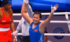 Vietnamese boxer wins bronze at international tournament in Russia