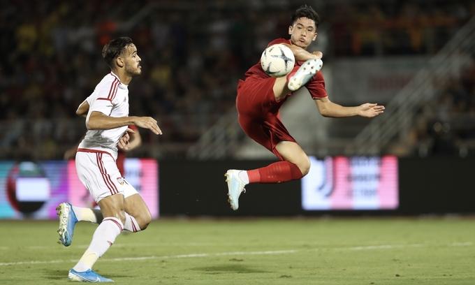 Vietnam U22 draw UAE in friendly