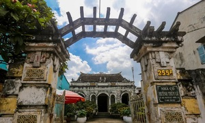 A 124-year-old Mekong Delta house bespeaks opulence and romance