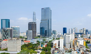 District 1 house prices top Saigon real estate chart