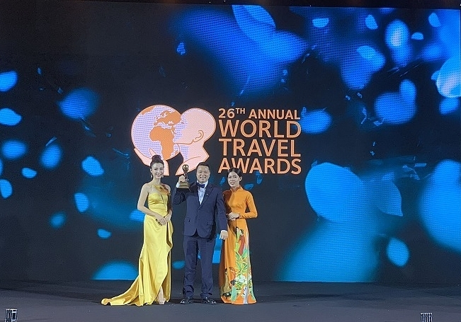 Sun World Fansipan Legend was honored as Vietnam's Leading Tourist Attraction at the 2019 World Travel Awards Asia-Oceania.