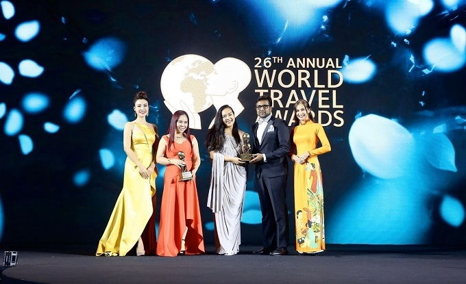 Salinda Resort won Vietnam's Leading Boutique Resort and Asia's Leading Beach Boutique Resort awards at the WTA 2019.