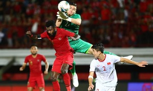 Dang Van Lam among best goalkeepers in Asian World Cup qualifiers