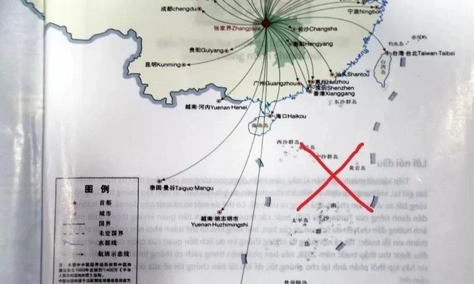 Saigon firm fined for using travel brochures with infamous nine-dash line