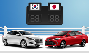 South Korean, Japanese cars race for Vietnamese buyers