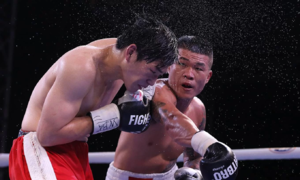 Hoang first Vietnamese to win WBA Asia East boxing title