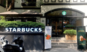 Starbucks reopens outlets in contaminated water area