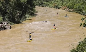 Vietnam readies for first ever kayak race in the northern highlands
