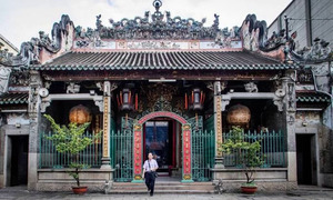 Ba Thien Hau Pagoda, a slice of China in Saigon
