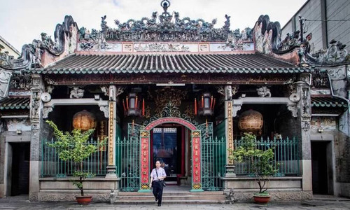 Ba Thien Hau Pagoda, a slice of China in Saigon
