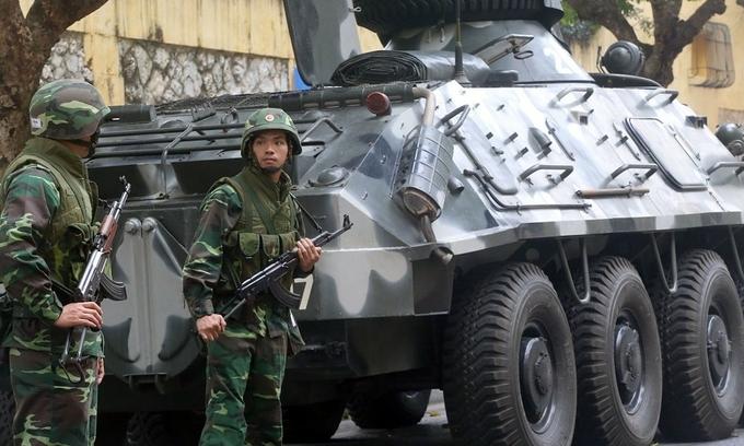 Vietnam ranks high in military strength