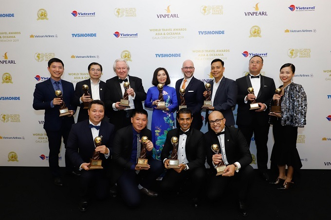 Many prizes awarded to projects developed by Sun Group.