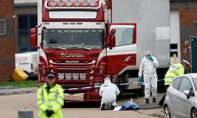 UK police believe 39 truck victims are Vietnamese