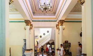 A century-old Mekong Delta villa showcases extravagant living