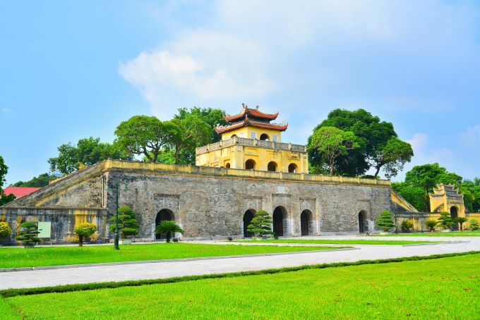The Thang Long Imperial Citadel, which is over 1,000 years old, was recognized as the world heritage site by UNESCO for its significant cultural values, making it one of the most popular tourist attractions in the capital. Photo by Shutterstock/Anh Binh.