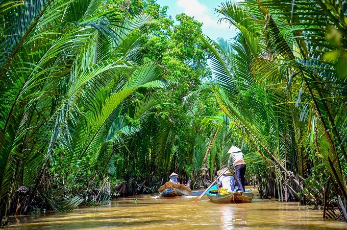 Life in Vietnam's Mekong Delta revolves around a myriad of waterways.