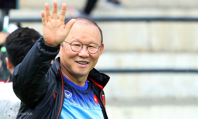 Vietnam renews coach Park's contract, details of terms awaited