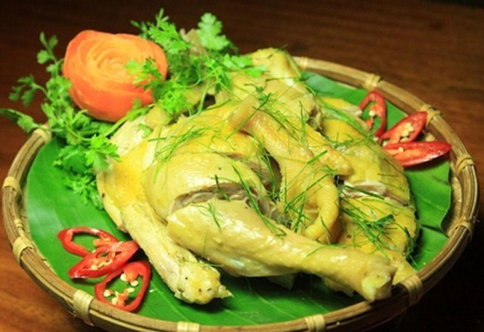 Chicken meat is a Ba Vi speciality as the chicken here is raised in nature.