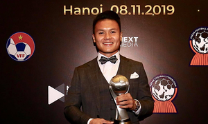 Vietnam wins ASEAN's player, coach of the year awards