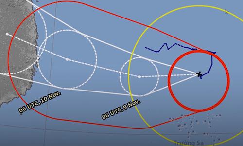 Storm Nakri to make landfall in Vietnam Sunday night