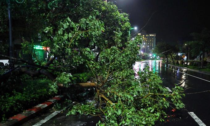 Storm Nakri causes blackouts across central Vietnam