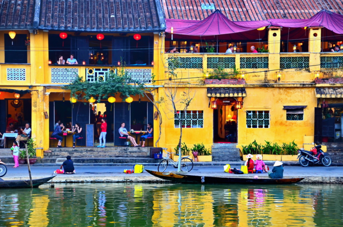 Hoi An by the river. Photo by Shutterstock/iamtripper.